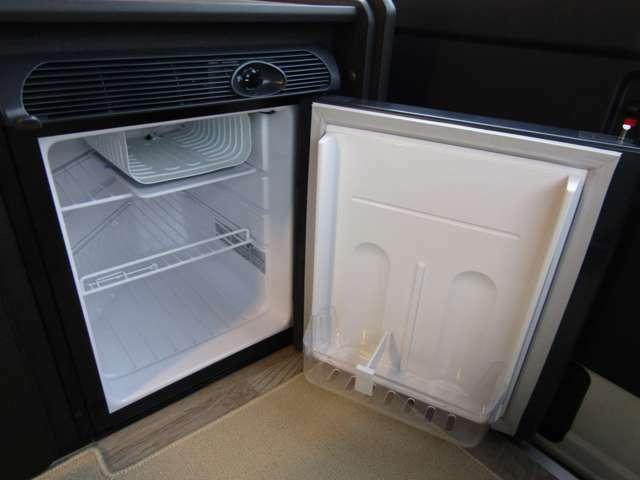 冷蔵庫も標準装備♪標準装備が多いのもDSシリーズの特徴です♪