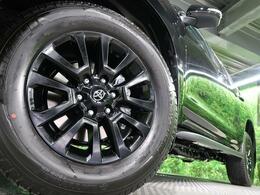 ブラックエディション専用純正18インチアルミホイール!ネクステージでは、社外アルミホイール、スタッドレスタイヤの取り扱いもございます!詳しくはスタッフまで♪
