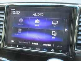 ホンダ純正9インチメモリーナビ VXM-207VFNi が装着されております。AM、FM、CD、DVD再生、音楽録音再生、フルセグTV、Bluetoothがご使用いただけます。初めて訪れた場所でも道に迷わず安心ですね!