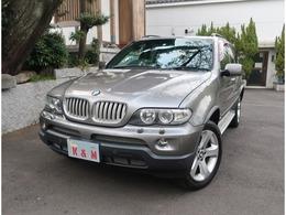 BMW X5 4.4i 4WD スポーツPKG サンルーフ ミラー型ETC 禁煙