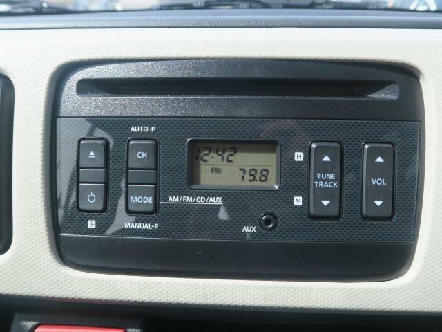 ?【純正CDオーディオ】最新のナビやセキュリティーにドラレコ、スピーカー等様々なオプションも取り揃えております!お車と同時購入でお買い得!ローンに組み込むこともできますよ♪