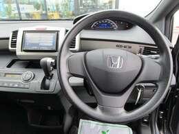 ハンドル周りもコンパクトで運転しやすいです!!