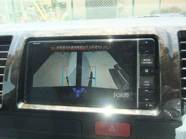 パノラミックビューモニター装着で360度 ナビに映し出します!