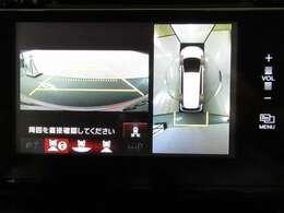 ★マルチビューカメラシステムとバックカメラ装備車★ 車庫入れの苦手な方にうれしい装備!車庫入れをサポートしてくれます。
