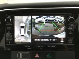 【全方位カメラ】駐車時に車両周辺や後方確認もできますので、大きな車の運転で不安な方も安心してお乗りいただけます♪
