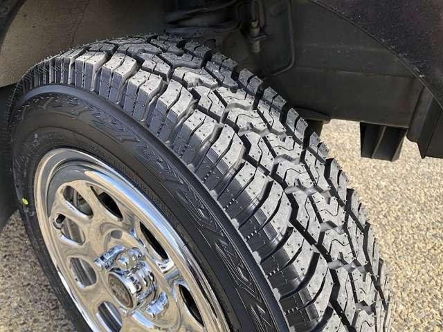新品ヨコハマジオランダーX-ATタイヤ オンロードオフロードの良いとこ取りタイヤです ロードノイズも静かです!!