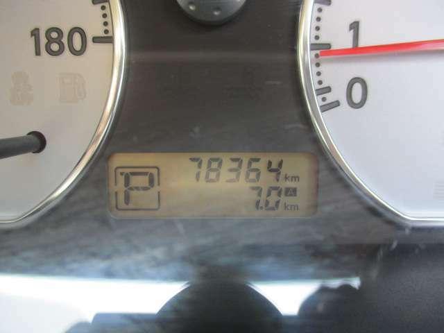 走行も78,364キロです