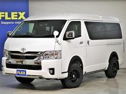 トヨタ ハイエース 2.7 GL ロング ミドルルーフ 4WD FLEX Ver2 ナビ フリップダウン