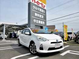 トヨタ アクア 1.5 S 純正SDナビ/BT/LEDヘッドライト