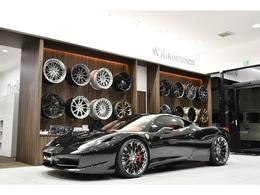 フェラーリ 458イタリア F1 DCT ローダウン 可変マフラースイッチ付き