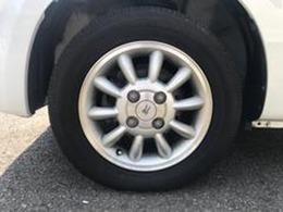 タイヤの溝もしっかり残っています。ご安心ください♪