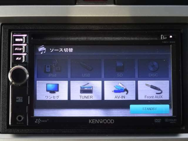 CD,ワンセグ、USB