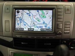 メーカーオプションのカーナビ ・ フルセグ ワンセグTV付きです! タッチパネルなので操作もラクラク!!
