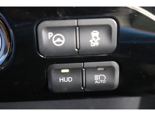 ヘッドアップディスプレイ付き。少ない視線移動で情報を確認出来て便利です!