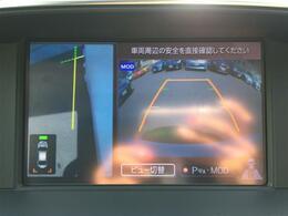 【バックモニター】ナビ画面で後方との距離を把握でき、駐車が苦手な方にもおすすめです!大きな車両ですが色分けされたガイド線もあるのでより安心ですね!