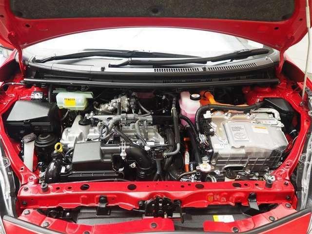 エンジンは1500ccのハイブリットエンジンです!