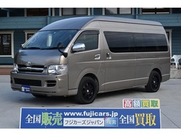 トヨタ ハイエース FOCS DSエボリューション シンク 冷蔵庫 ツインサブバッテリー ナビ