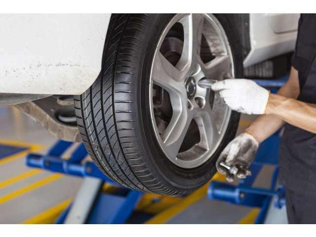 Bプラン画像:年式や走行に合わせ部品の消耗などチェックします。
