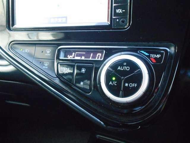 オートエアコン★温度を設定すれば車内を快適な温度に保ってくれます♪ナノイー付きでさらに快適です!