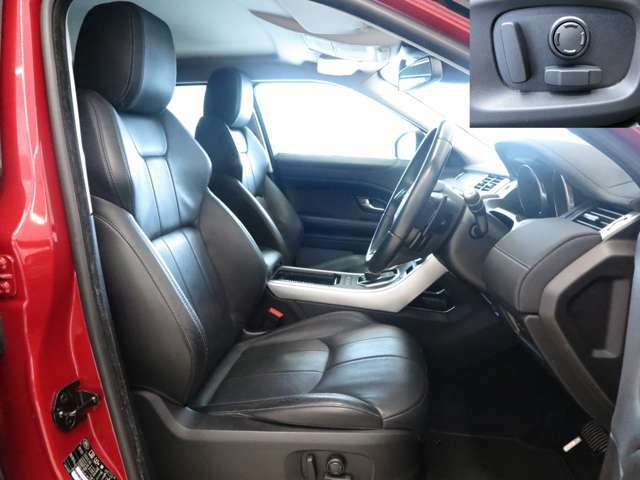 【12way電動調整シート・シートヒーター 】シートは質感の高いパーフォレイテッドグレインレザーシートを採用!