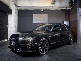 アウディ RS6アバント 4.0 4WD 黒革Pシート/OP21AW/LEDヘッドライト/BOSE
