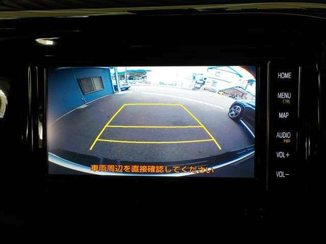 ☆バックカメラも装備している為、死角の後ろも確認出来て駐車も楽々です♪