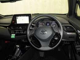 ドライバー目線の画像です。視界も確保されていますので、運転しやすいです。