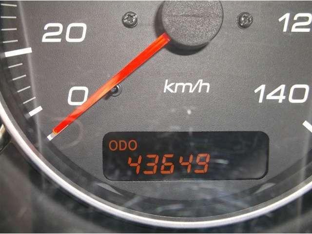 走行距離は 43649KM     是非お問い合わせください♪