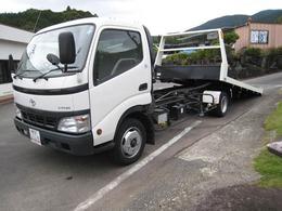 トヨタ ダイナ 1オーナー NOX適合 一般型積載車 花見台