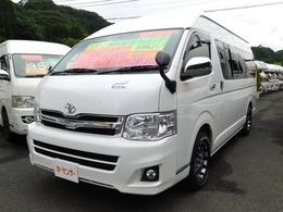 トヨタ ハイエースバン キャンピング RVナッツ社製 Leek