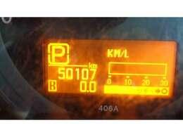 現在走行距離   50.107 KMです!