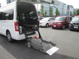日産 NV350キャラバン 2.5 チェアキャブ M仕様 車椅子2基 ドライブレコ-ダ-