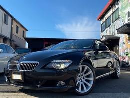 BMW 6シリーズカブリオレ 650i ナビ アルミ HID ETC 電動オープン