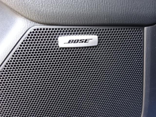 車種ごとに専用チューニングが施されたBOSEサウンドシステム。