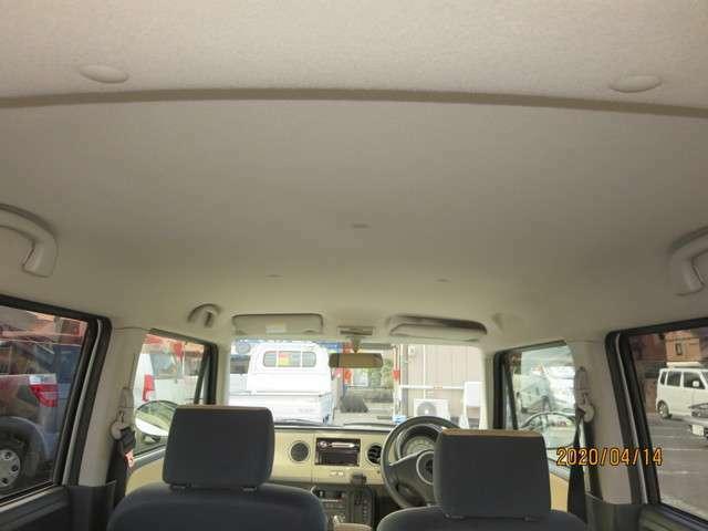 禁煙車で天井もきれい