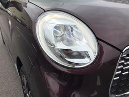 ヘッドライトはLEDですので、夜間も明るく、他車からの視認性も良くなります