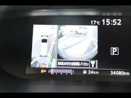 アラウンドビューモニターを装備しておりますので車庫入れが不安な方でも後方確認が容易に行えます。またアラウンドビューカメラも搭載です。