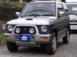 三菱 パジェロミニ 660 アニバーサリー リミテッド V 4WD パートタイム4WD ターボ