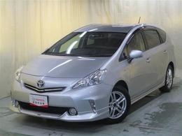 トヨタ プリウスα 1.8 S /1年保証付販売車/ナビ/TV/フルエアロ