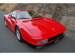 フェラーリ テスタロッサ 4.9 社外マフラー/奇麗な内外装です!