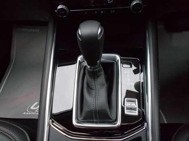 なめらかな加速!スムーズな変速、低燃費そしてダイレクト感のあるシフトフィールが楽しめる6速AT!