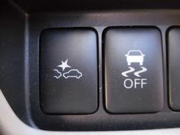 エマージェンシーブレーキスイッチ(左)・VDC OFFスイッチ(右)