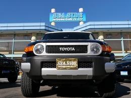 米国トヨタ FJクルーザー 4.0 4WD 自社新車並行車  1オーナー オフロードpkg