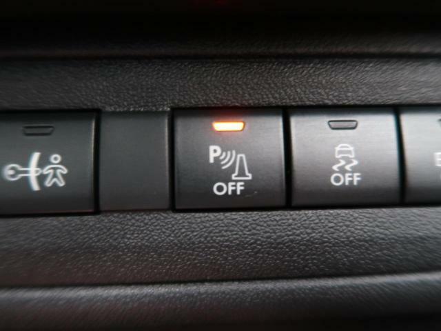 ●リアクリアランスソナー:センサーと障害物とのおおよその距離を検知し、障害物の位置と距離を知らせてくれる安全装備です!