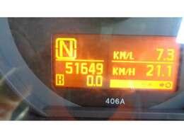 現在走行距離   510649 KMです!
