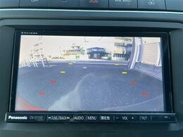 バックモニター付きなので駐車時に便利です!
