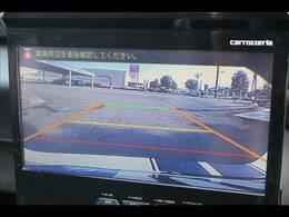バックカメラ装備。駐車が苦手な方に嬉しい装備です。