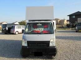 荷室の設備も販売品目に応じて変更できます お気軽にお問合せ下さい!