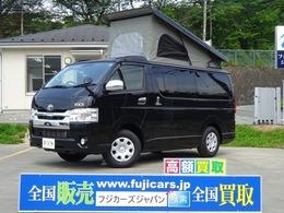 トヨタ ハイエースバン キャンピングカー FOCSフォックス エスパシオ+UP トヨタセーフティーセンス