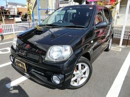 スズキ Kei 660 ワークス 5MTターボ 純正15AW 外品マフラー